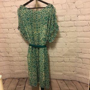 DKNYC Teal Dress